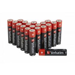 Verbatim - Batterie 20 x AAA / LR03 - Alcaline