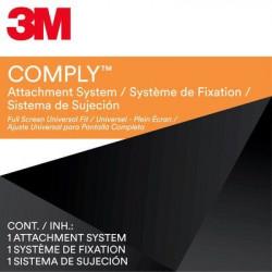 """3M Comply Attachment System - Macbook Fit - Filtre de confidentialité pour ordinateur portable - adhésif - 11.6""""-15.6"""" - noir"""