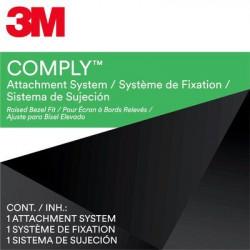 """3M Comply Attachment Set - Bezel Type - Filtre de confidentialité pour ordinateur portable - adhésif - 10.1""""-17"""" - noir"""