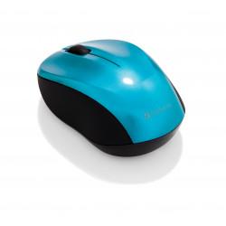 Verbatim Wireless Mouse GO NANO - Souris - optique - sans fil - RF - récepteur sans fil USB - bleu des Caraïbes