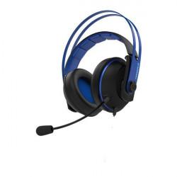 ASUS Cerberus V2 - Micro-casque - circum-aural - filaire - jack 3,5mm - bleu - pour TUF Gaming FX505DV