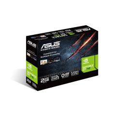 ASUS GT710-SL-2GD5-BRK - Carte graphique - GF GT 710 - 2 Go GDDR5 - PCIe 2.0 - DVI, D-Sub, HDMI - san ventilateur