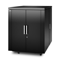 APC NetShelter CX Secure Soundproof Server Room in a Box Enclosure - Shock Packaging - Rack armoire - avec unité de distributio