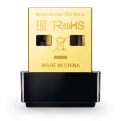 TP-Link Archer T2U Nano - Adaptateur réseau - USB 2.0 - 802.11ac