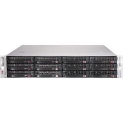 Supermicro SC826 BE2C-R741JBOD - Montable sur rack - 2U - SATA/SAS - hot-swap 740 Watt - noir