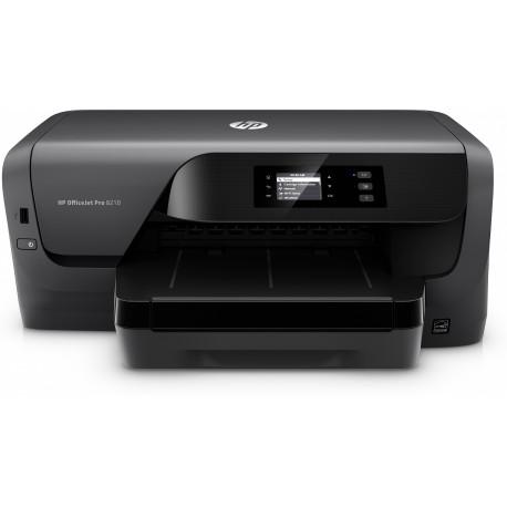 "HP Officejet Pro 8210 : ""         19/14,5 ppm ISO""         USB, Ethernet, Wifi, Wifi direct""         HP ePrint, AirPrint"""