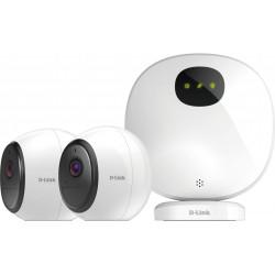 D-Link DCS 2802KT - Camera Kit - caméra de surveillance réseau - extérieur, intérieur - résistant aux intempéries - couleur (Jo