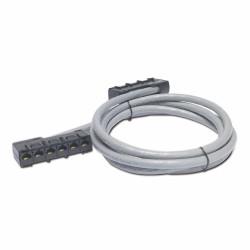 APC Data Distribution Cable, CAT5e UTP CMR Gray, 6xRJ-45 Jack to 6xRJ-45 Jack, 19ft (5,7m)