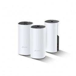 TP-Link Deco P9 - Système Wi-Fi (3routeurs) - jusqu'à 6000 pieds carrés - GigE - 802.11a/b/g/n/ac, Bluetooth 4.2 - Bi-bande