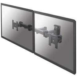 """Neomounts by Newstar FPMA-W960D - Support - pour 2 écrans LCD (full-motion) - noir - Taille d'écran : 10""""-27"""" - montable sur"""