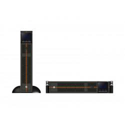 Liebert GXT RT+ - Onduleur (montable sur rack / externe) - CA 230 V - 1350 Watt - 1500 VA 9 Ah - connecteurs de sortie : 6 - 2U