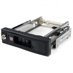 StarTech.com Rack amovible sans tiroir de 5,25 pouces pour disque dur SATA de 3,5 pouces - Rack mobile échange à chaud / Hot Sw