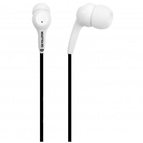 ifrogz Bolt Plus - Écouteurs avec micro - intra-auriculaire - filaire - jack 3,5mm - blanc