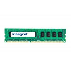 Integral - DDR3 - module - 1 Go - DIMM 240 broches - 1066 MHz / PC3-8500 - CL7 - 1.5 V - mémoire sans tampon - ECC