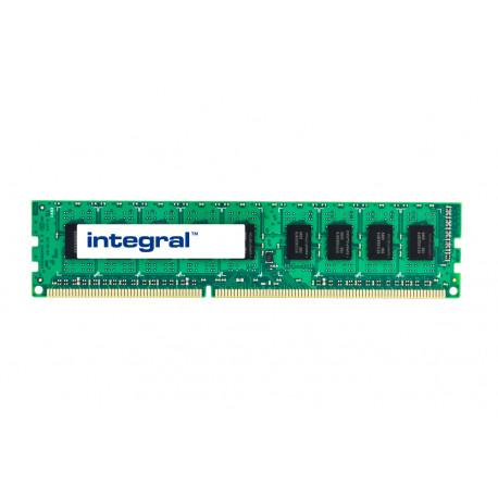 Integral - DDR3 - module - 2 Go - DIMM 240 broches - 1066 MHz / PC3-8500 - CL7 - 1.5 V - mémoire sans tampon - ECC