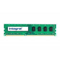 Integral - DDR3 - module - 4 Go - DIMM 240 broches - 1600 MHz / PC3-12800 - CL11 - 1.35 V - mémoire sans tampon - non ECC