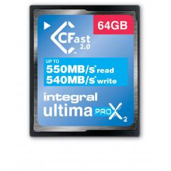 Integral UltimaPro X2 - Carte mémoire flash - 64 Go - 3600x - CFast 2.0
