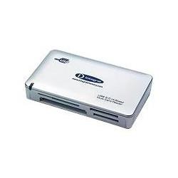 Integral MultiCard Reader - Lecteur de carte (MS, MS PRO, MMC, SD, MS Duo, xD, MS PRO Duo, CF, RS-MMC, MMCmobile, microSD, MMCp