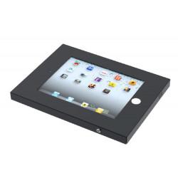 Neomounts by Newstar IPAD2N-UN20 - Kit de montage (boîtier antivol) - pour tablette - verrouillable - acier - noir - Interface