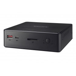 Shuttle XPC nano NC10U5 - Barebone - mini PC - 1 x Core i5 8265U / 1.6 GHz ULV - RAM 0 Go - UHD Graphics 620 - GigE - LAN sans