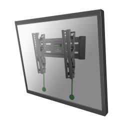 """NewStar NeoMounts NM-W125 - Monte pour Écran LCD (inclinaison) - noir - Taille d'écran : 10""""-40"""" - montable sur mur"""