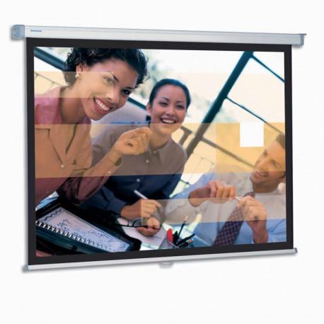 Projecta SlimScreen - Écran de projection - montable au plafond, montable sur mur - 1:1 - Matte White S