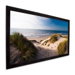 """Projecta HomeScreen Deluxe HDTV Format - Écran de projection - montable sur mur - 158"""" (402 cm) - 16:9 - Matte White - RAL 702"""