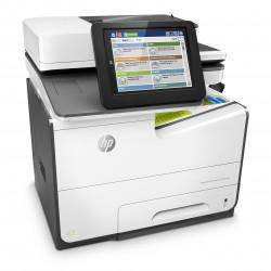 HP PageWide Enterprise Color MFP 586dn - Imprimante multifonctions - couleur - large éventail de page - A4 (210 x 297 mm), Lega
