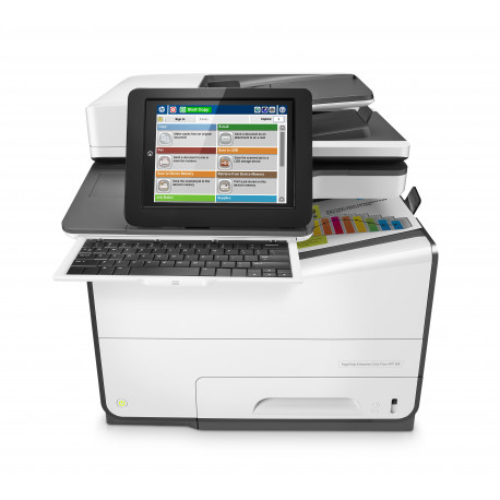 HP PageWide Enterprise Color Flow MFP 586z - Imprimante multifonctions - couleur - large éventail de page - 216 x 356 mm (origi