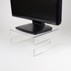 Neomounts by Newstar NSMONITOR50 - Pied - pour moniteur - acrylique - transparent