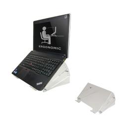 """NewStar NSNOTEBOOK300 - Pied pour ordinateur portable - acrylique - clair - Taille d'écran : 10""""-22"""""""