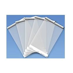 Fujitsu - Feuille de support de scanner - transparent (pack de 5) - pour fi-62XX, 7030, 71XX, 7300, 800, Network Scanner N7100,