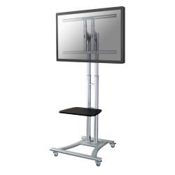 """Neomounts by Newstar PLASMA-M1800E - Chariot - pour écran plat/équipement audiovisuel - argent - Taille d'écran : 27""""-70"""""""
