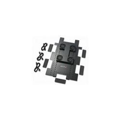 APC Roof Fan Tray - Tiroir pour ventilateur en rack - CA 208/230 V - noir - pour NetShelter SX Enclosure with Sides