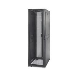 """APC NetShelter SX - Rack - noir - 48U - 19"""" - pour P/N: SUA1000RM2U, SUA1000RM2U-TU, SUA1000RMI2U, SUA2200RMXLI3U, SUA5000RMI5"""
