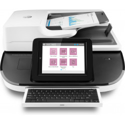 HP Digital Sender Flow 8500fn2 - Scanner de documents - à plat : CCD/ADF : CIS - Recto-verso - 216 x 864 mm - 600 dpi x 600 dpi