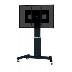 Neomounts by Newstar PLASMA-M2500 - Chariot - pour écran plat/équipement audiovisuel (motorisé) - noir, RAL 9005 - Taille d'éc