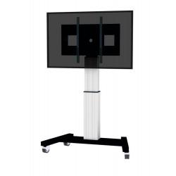 Neomounts by Newstar PLASMA-M2500 - Chariot - pour écran plat/équipement audiovisuel (motorisé) - argent - Taille d'écran : 42