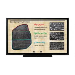 "Sharp BIG PAD PN-75HC1 - Classe de diagonale 75"" écran LED - interactive - avec écran tactile - 4K UHD (2160p) 3840 x 2160 - s"