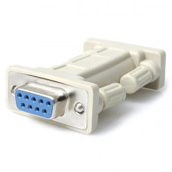 StarTech.com Adaptateur null modem DB9 série RS232 - F/F - Adaptateur de modem nul - DB-9 (F) pour DB-9 (F) - pour P/N: EC1S952