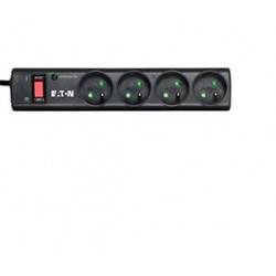 Eaton Protection Strip - Protection contre les surtensions - CA 220-250 V - 2500 Watt - connecteurs de sortie : 4 - noir