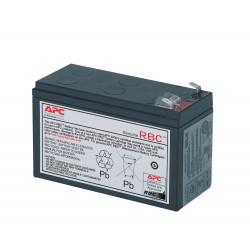 APC Replacement Battery Cartridge 17 - Batterie d'onduleur - 1 x Acide de plomb 108 Ah - noir - pour P/N: BE700Y-IND, BE850G2,