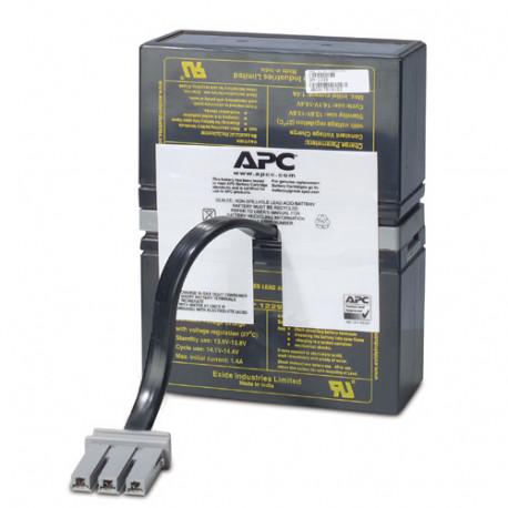 APC Replacement Battery Cartridge 32 - Batterie d'onduleur - 1 x batterie - Acide de plomb - Charbon - pour P/N: 516-015, BN10