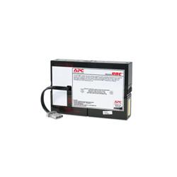 APC Replacement Battery Cartridge 59 - Batterie d'onduleur - 1 x batterie - Acide de plomb - Charbon - pour Smart-UPS SC 1500V