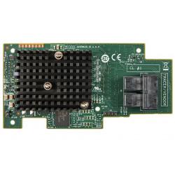 Intel Integrated RAID Module RMS3CC080 - Contrôleur de stockage (RAID) - 8 Canal - SATA 6Gb/s / SAS 12Gb/s - 12 Gbit / s - RAID