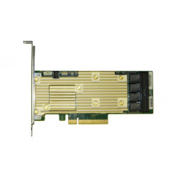 Intel RAID Controller RSP3TD160F - Contrôleur de stockage (RAID) - 16 Canal - SATA 6Gb/s / SAS 12Gb/s / PCIe profil bas - 12 Gb