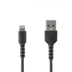 StarTech.com Câble Lightning vers USB renforcé de 1 m - Certifié Apple MFi - Cordon Lightning durable pour iPhone, iPad, iPod -