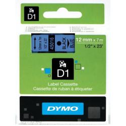 Ruban DYMO DYMO D1 12mmX7m Noir&Bleu