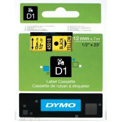 Ruban DYMO DYMO D1 12mmX7m Noir&Jaune