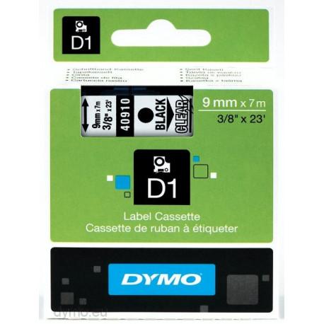 Ruban DYMO D1 9mmX7m Noir